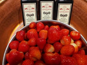 Strawberries and aged balsamic